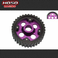 Wholesale Racing Adjustable cam gears pulley FOR Honda B16A Purple