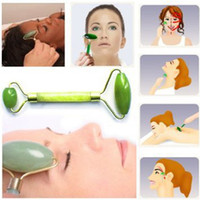 Wholesale Practicaln Women Lady Facial Relaxation Slimming Tool Jade Roller Massager For Face Body Head Neck Foot Massaging DHL