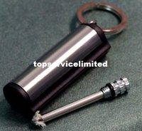 Wholesale 500pcs New Plain Design Match Box cigarette Lighter Round All Metal Permanent Million Metal Matches