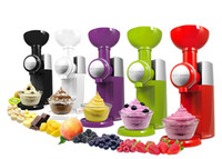Wholesale Swirlio Frozen Fruit Dessert Maker Ice Cream Makers Smoothie ice cream machine