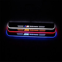 Wholesale Car Styling for BMW M6 LED pedal lights pathway light Side Step welcome threshold panel flash lamp