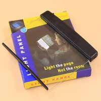 bedside panel - New Creative LED Reading Lamp Light Panel Lightwedge Bedside Plastic Reading Lamp PC
