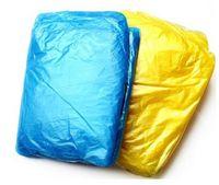 Wholesale Disposable Raincoat Adult Emergency Waterproof Hood Poncho Travel Camping Travel Rain Coat Unisex