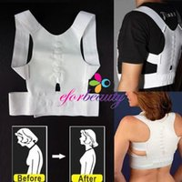 Wholesale New Magnetic Therapy Posture Back Shoulder Corrector Support Shoulder Brace Belt For Men Women
