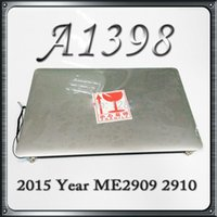 Wholesale 2015 Year Genuine New A1398 LCD Assembly for MacBook Pro Retina quot A1398 Mid MJLC2 MJLQ2 MJLT2 LL A