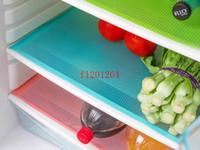 Wholesale 100pcs Refrigerator Freezer Mat Fridge Anti fouling Anti Frost Waterproof Pad kitchen table wardrobe drawer mats