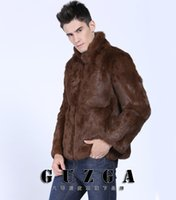 Wholesale Fall Real Long Hot Sale Mens Winter Warm Anti Stance Of Animal Rights Fux Coat Parka Luxury High Grade Excellent Commerce Solid