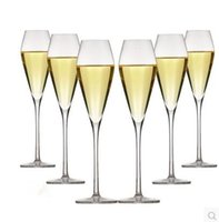 Wholesale Large Hand unleaded crystal champagne glasses of red wine glass goblet