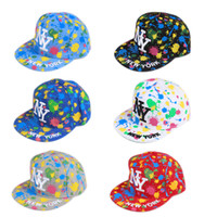 Wholesale Summer Baseball Hats for Women Fashion Adjustable Ball Cap Hip Hop caps HATER Sports Snapback In Stock Colorful Scrawl Six Color