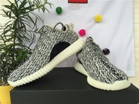 cotton lace fabric - boost basketball shoes sneakers Kanye West fashion advanced sports shoes grey color high quality all size free ship DHL