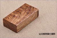 Wholesale Cigarette Case Yellow Pear Wood Hollowed Out Cigarette Case Fine Gifts Cigarettes