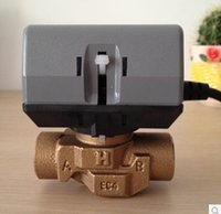 Wholesale Fan coil electric valves honeywell electric two way valve Honeywell VC6013 Series