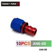 Wholesale TANSKY AN AN6 AN STRAIGHT SWIVEL OIL FUEL GAS LINE HOSE END PUSH ON MALE FITTING AN6 B