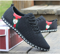 Wholesale Lowest Price New Men s Sneakers Summer Zapato Casual breathable mesh Sneakers Running Sports shoes for Men Plus Size