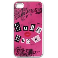 hard cover book - Burn Book Girl Movie Hard Mobile Phone Case Cover For iPhone S S C