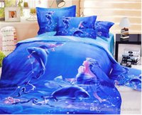 Cheap Polyester / Cotton 3d bedding Best Reactive dyeing Home bedding sets
