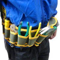 Wholesale Multifunction Durable Hardware Mechanics Canvas Tool Bag Safe Belt Pouch Utility Kit Pocket Organizer Bags
