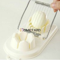 Wholesale Practical In Multifunction Flower Pattern Edge Cut Kitchen Cutter Egg Slicer Sectioner
