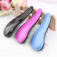 Wholesale Styling Tools Combs Fashion Hair Brush Combs Magic Detangling Handle Tangle Shower Hair Brush Comb Salon Styling Tamer Tool