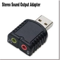 add dvd - External USB Stereo Sound Adapter Add a Second Stereo Sound Output for PC Laptop Plug and Play No Need Drivers E2sh