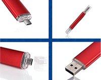 computer memory - Smart Phone GB Memory disk Micro USB Flash OTG Pen For Smart Phones tablet computer random colour external storage micro usb stick