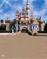 Wholesale 5feet feet background Majestic castle banner photography backdropsvinyl photography backdrop LK
