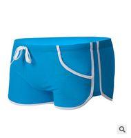 best mens swim shorts - Color Sexy Men s Swimming Trunks Best Quality Mens Swimwear Trunks Low Waist Swimwear Boxer Shorts Swimsuit
