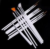 Cheap Nail Art Brushes Nail art pen Best 15 Wood acrylic nail