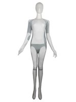 Wholesale Siren From Tron Costume Set Party Zentai Suits White Color Halloween Cosplay Costumes Fictional Character Elastic Lycar Fabric CSC92