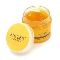 Wholesale 60g Natural Ginger Moisturizing Paraffin Bath Foot Cream Exfoliating Foot Massage Cream Feet Care