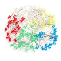 assorted rectifier - Colorful mm Diodes LED Light White Yellow Red Green Blue Assorted Kit DIY LEDs Set Emitter Diodes order lt no track