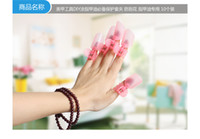 Wholesale New product nail protector Plastic Nail Art Soak Off Cap Clip UV Gel Polish Remover Wrap