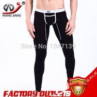 Wholesale sexy sport suit men brand quilted thermal underwear mens white leggings men tight WINTER wangjiang warm CKU