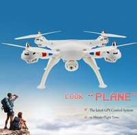 Wholesale Newest Syma X8C Venture CH G RC Quadcopter with MP Camera Axis D Flip Fly UFO RC Helicopter with retail box free DHL