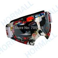 NUEVO gafas 2015 del casco del ktm gafas de motorista del motorista de la vendimia de la bici de la suciedad del motocrós de la motocicleta que compiten con los vidrios Lente clara