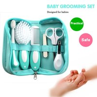 baby grooming kit - 6pcs Baby Essential Grooming Kit Nail Hair Daily Nurse Home Travel Tool