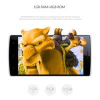Wholesale DOOGEE DG580 Smartphone quot Android MTK6582 Quad Core Hotknot White