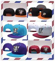 anaheim - accept mix order all sports team snapbacks Anaheim Mighty Ducks vintage ice hockey cap tone adjustable Snapback Hat fashion nhl snapback