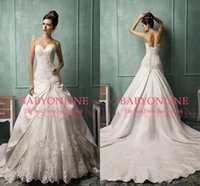 Cheap Reference Images 2015 bridal gowns Best Jewel Neckline Stretch Satin wedding dresses