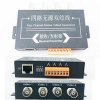 Precio de Balun pasivo de vídeo de 4 canales-UTP 4CH Pasivo de Vídeo Balun Transceptor de la Cámara DVR de 4 BNC del CCTV