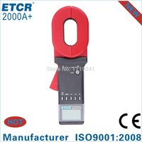 Wholesale ISO CE ETCR2000A Clamp Earth Resistance Tester