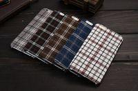 plastic lattice - shockproof cases Lattice pattern fabric cases business styles universal for i phone case antiskid