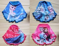 Wholesale 60pcs High quality Frozen Muslim kerchief colors Elsa Anna girl baby headscarf Cotton Bandanas headwear HX