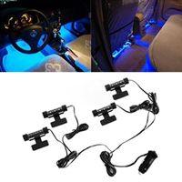Wholesale High Quality Blue in1 V x LED car Interior light Decorative Atmosphere Light Lamp