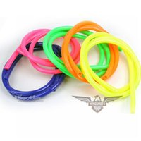 Wholesale mm Inner Dia Colorful Motorcycle Performance Soft Rubber Fuel Tube Hose Five Colors Drop Shipping