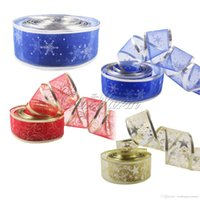 wired christmas ribbon - 2Yard Gold color Organza Bling Ribbon Wreath Christmas Present Weeding Wire Edged Colors ZD