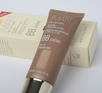 Wholesale New Makeup BB Cream IMAN Skin Tone Evener BB Creme SPF Paraben Free ml DHL