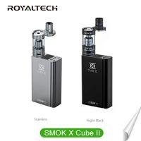 Wholesale 100 Authentic Smok X Cube II w TC black Mod Smok X Cube TC Mod Smok Xcube2 mod watt Smok Xcube II w Fast Shipping FREE DHL