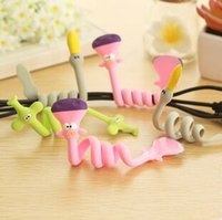 animal management - Cute animal fashion long Winder headphone cable management hub
