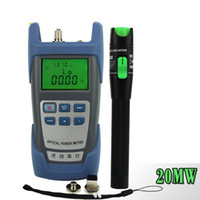 Wholesale In FTTH Fiber Optic Tool Kit with Optical Power Meter and MW Visual Fault Locator Use Fiber optic test pen